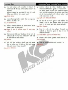 REET Answer Key 2018 - 11 Feb BSER REET Level I II Official Key Paper Solution PDF