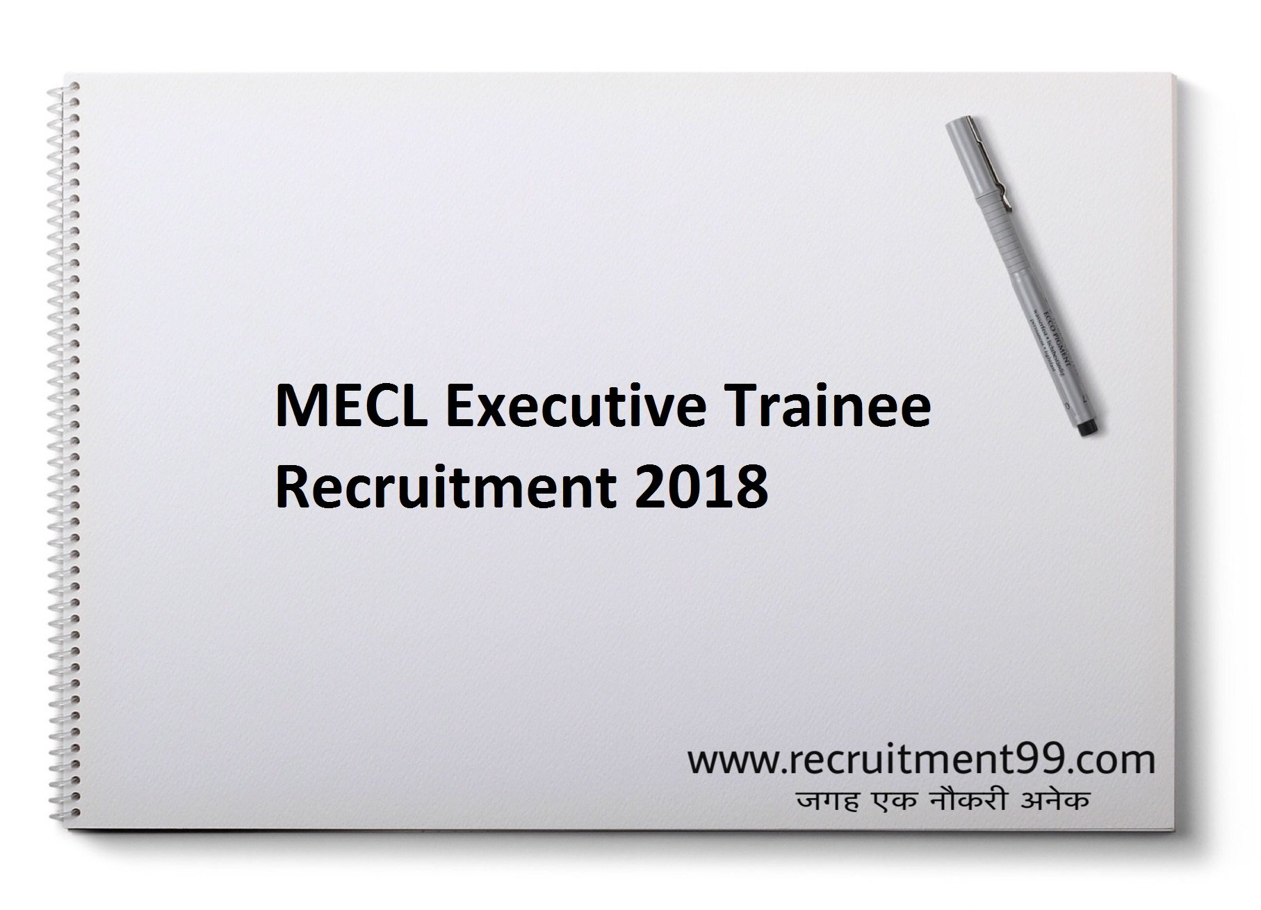 MECL Recruitment 2018 – 13 Executive Trainee Posts Apply Online