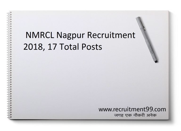 NMRCL Recruitment 2018 - Apply Assistant & Manager 17 Posts