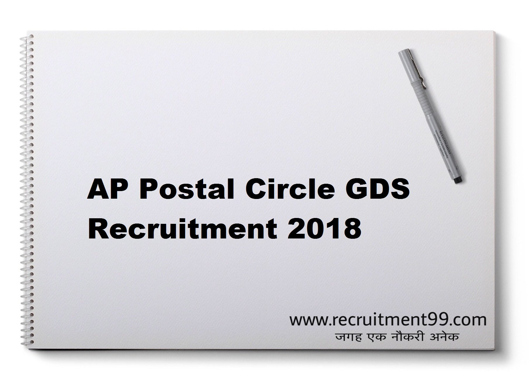 AP Postal Circle GDS Recruitment Admit Card Result 2018