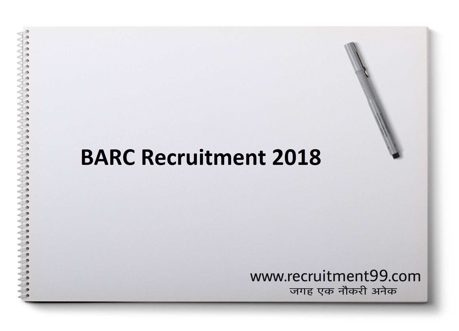 BARC Junior Resident Recruitment Admit Card & Result 2018