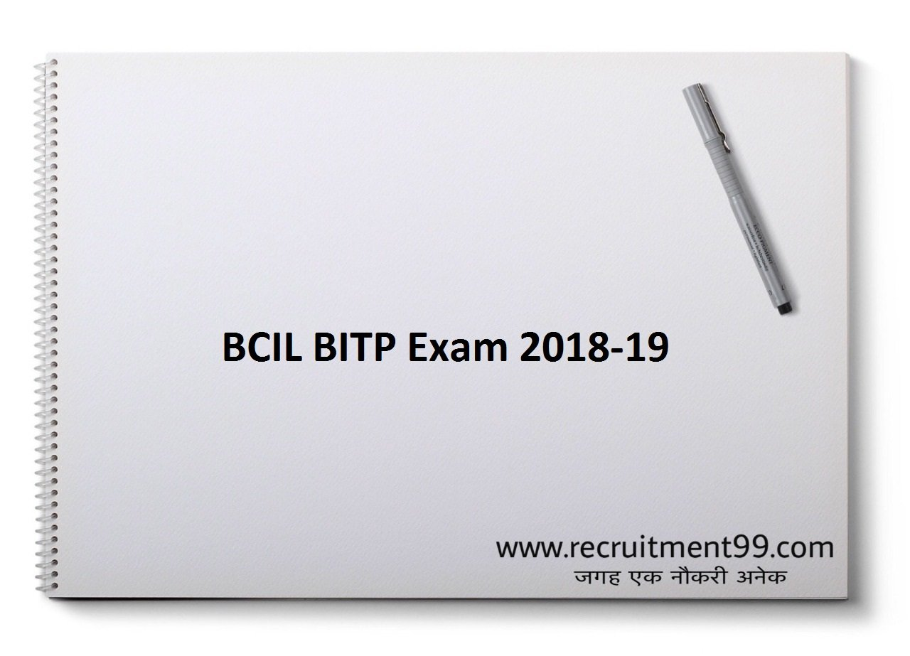 BCIL BITP Exam Application Form, Interview & Result 2019-20