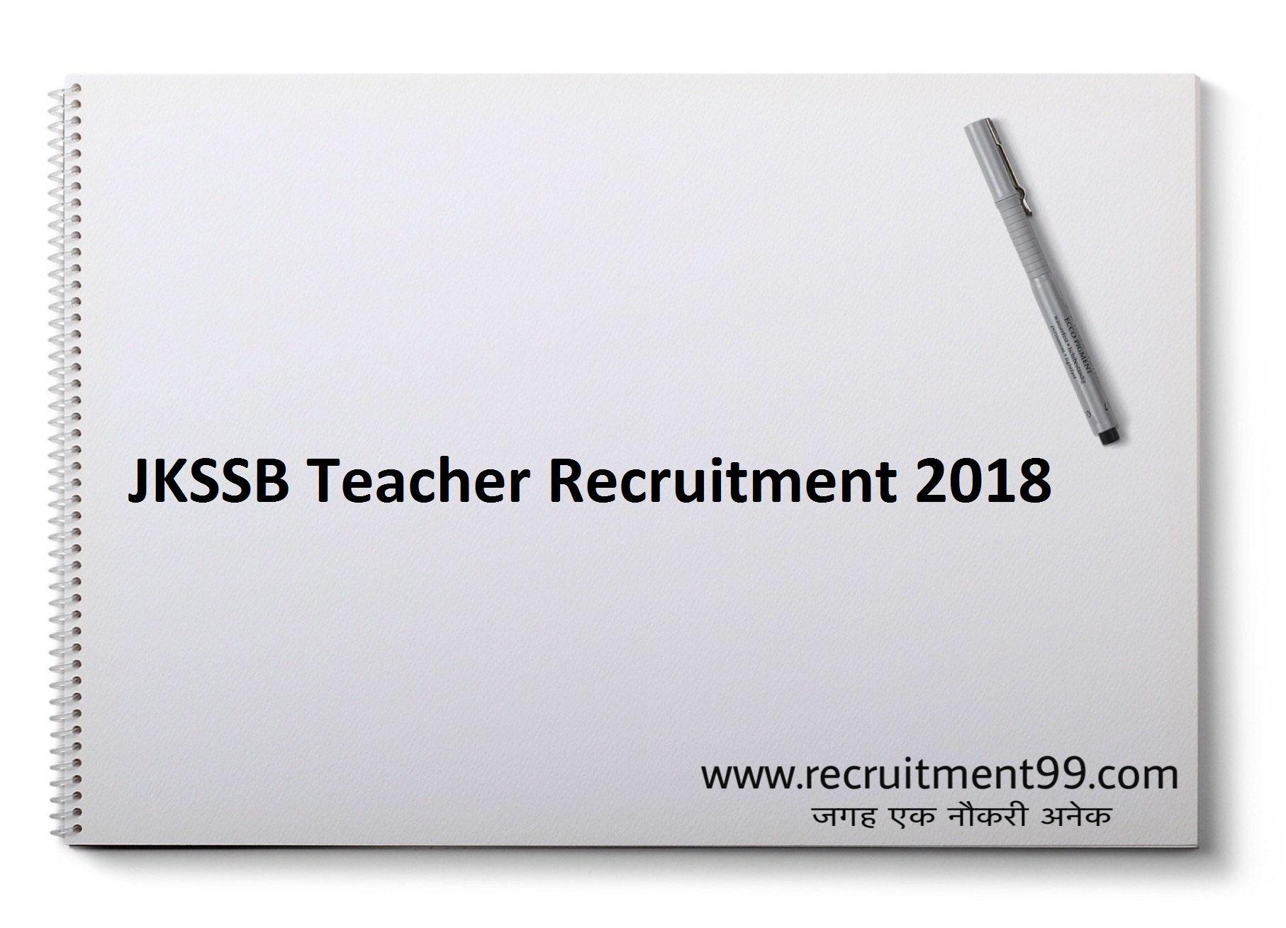 JKSSB General Urdu Science Maths Teacher Recruitment Admit Card & Result 2018