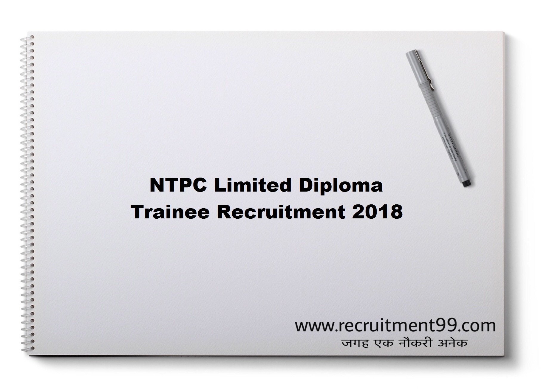 NTPC Limited Diploma Trainee Recruitment Admit Card & Result 2018