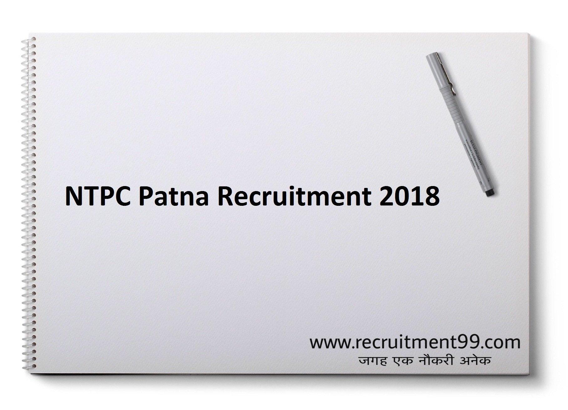 NTPC Patna Diploma Trainee Recruitment Admit Card & Result 2018