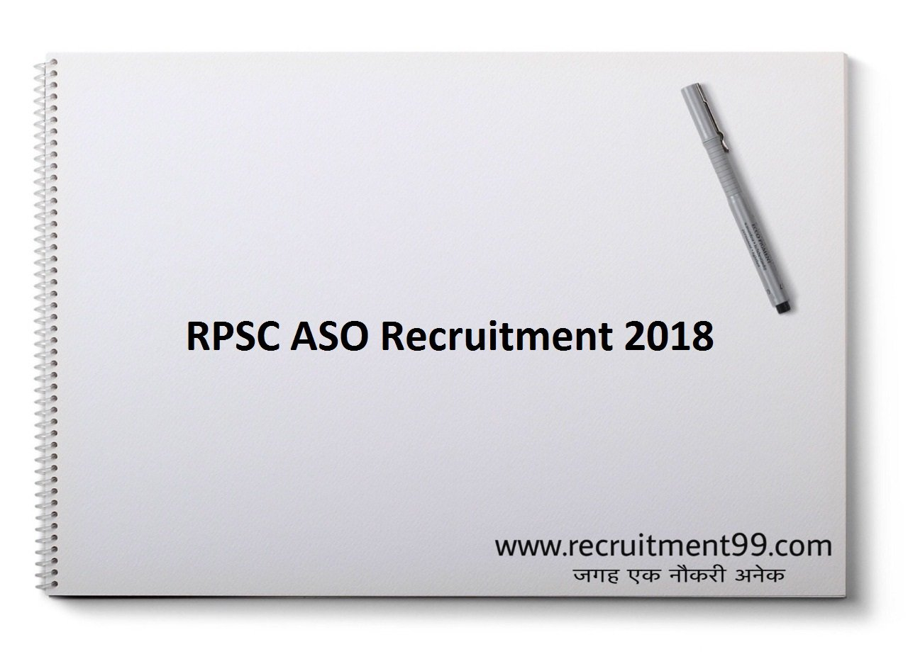RPSC ASO Recruitment, Admit Card & Result 2018