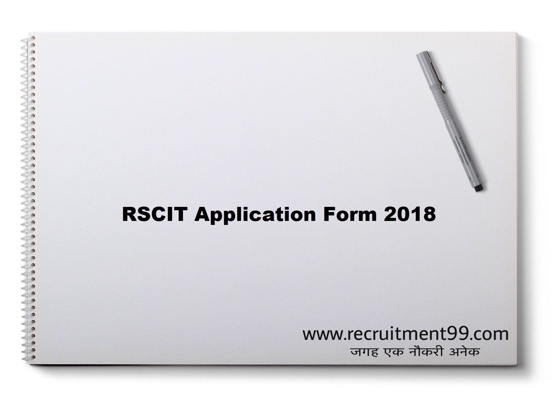 RSCIT Application Form Admit Card Answer Key Result 2018