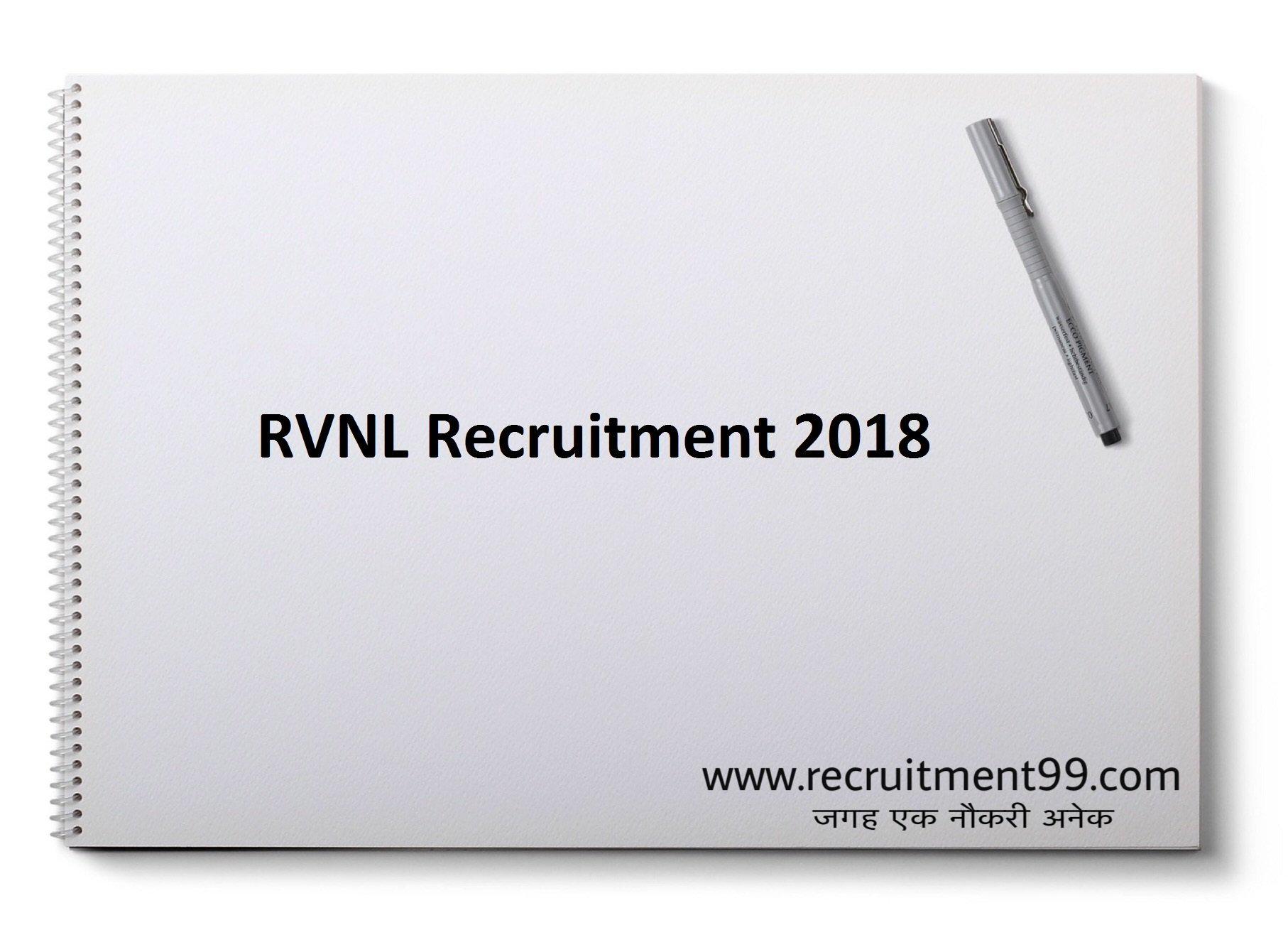RVNL Chief Project Manager General Manager Recruitment Admit Card & Result 2018