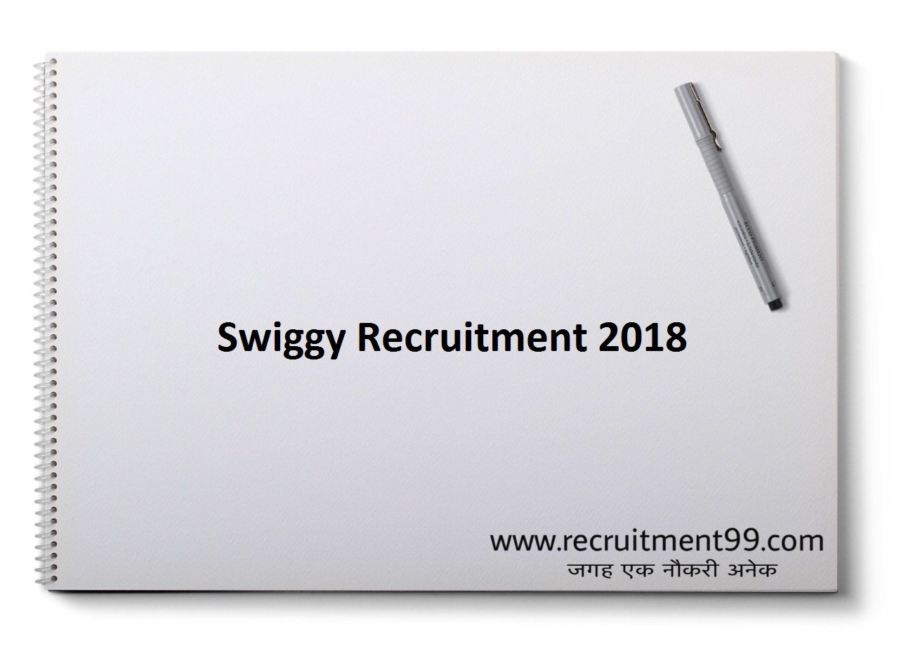 Swiggy Delivery Boy Recruitment, Admit Card & Result 2018