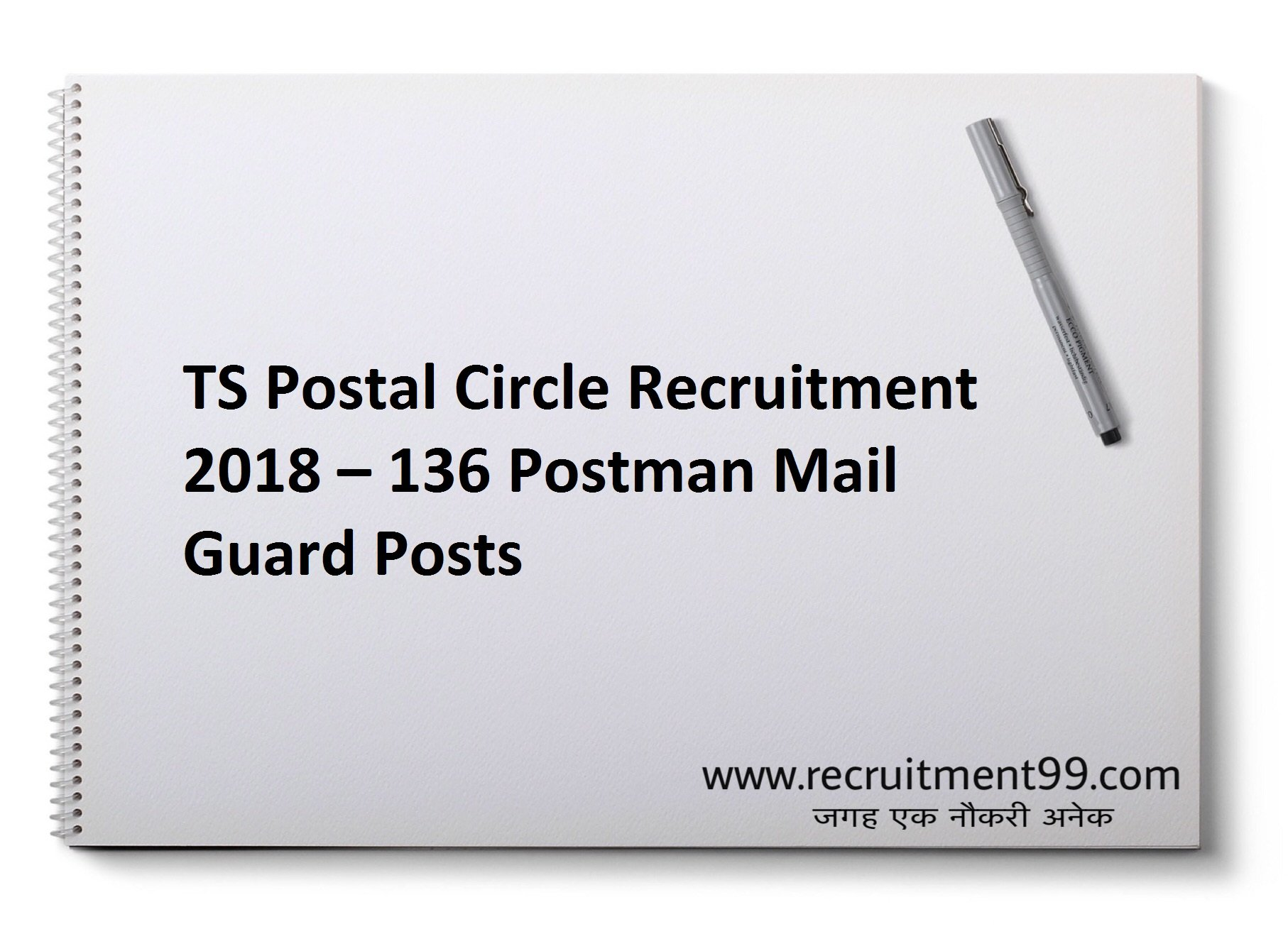TS Postal Circle Postman Mail Guard Recruitment Admit Card & Result 2018