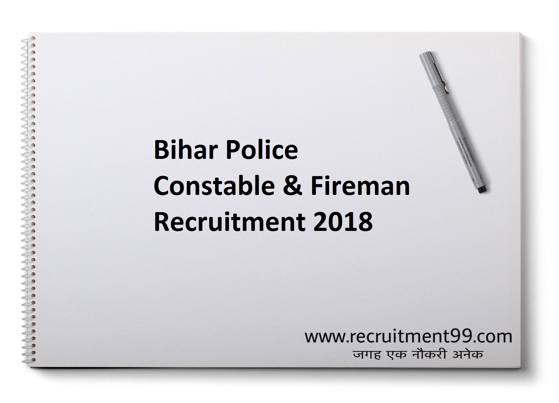 Bihar Police Constable Fireman Recruitment Admit Card Result 2018