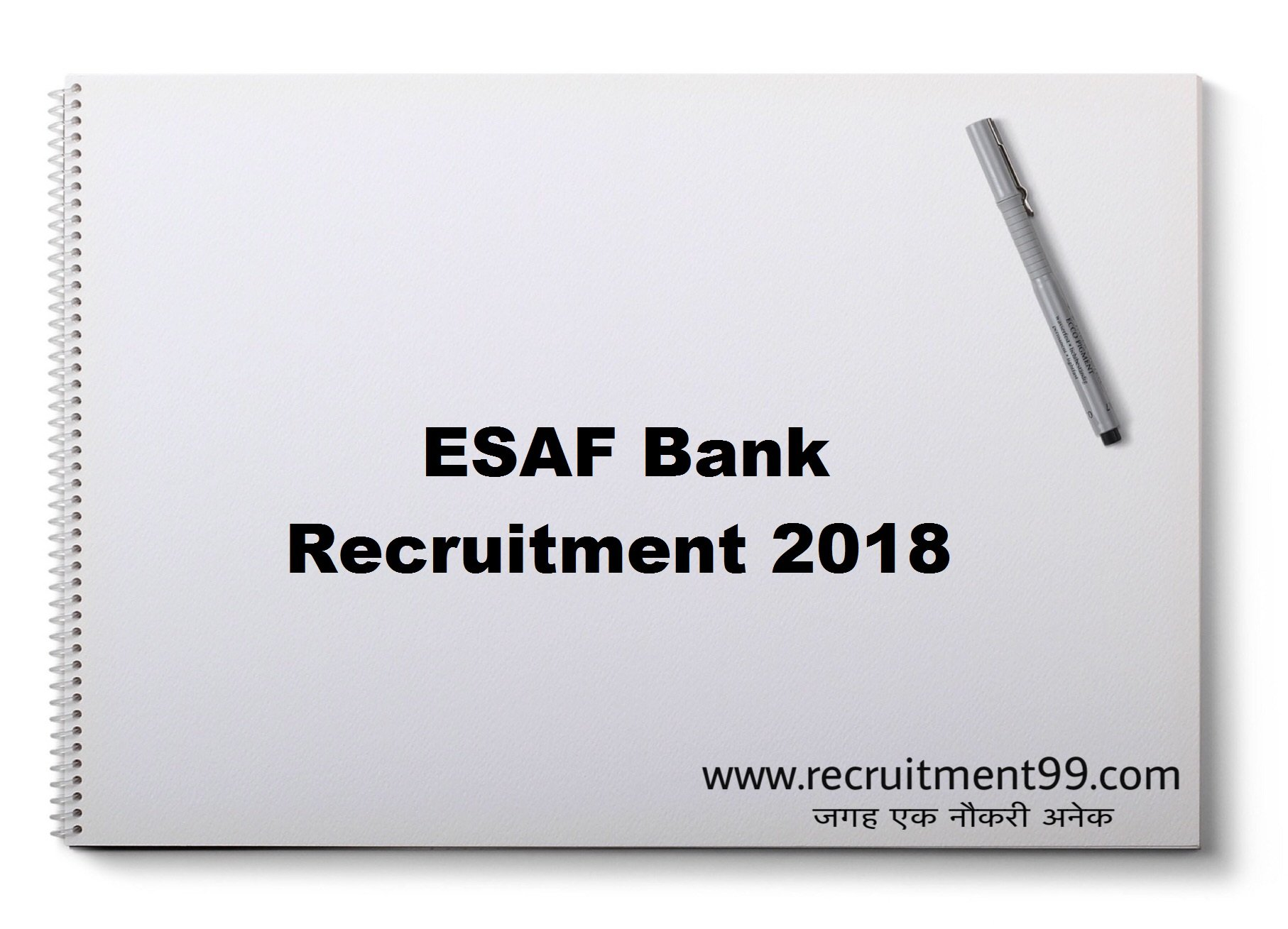 ESAF Bank Sales Officer Branch Head Relationship/ Credit Officer Recruitment Admit Card Result 2018