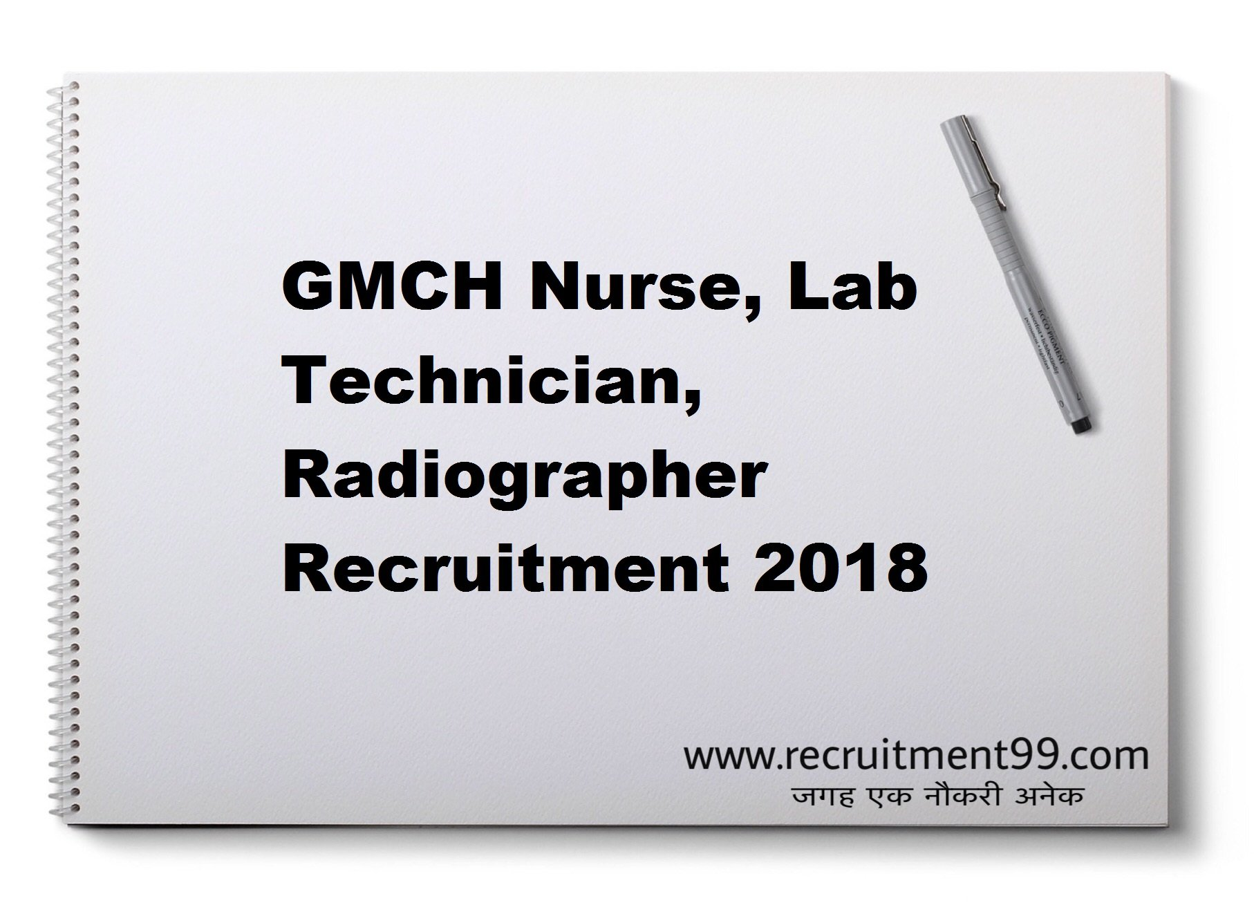 GMCH  Nurse, Lab Technician, Radiographer Recruitment Admit Card Result 2018