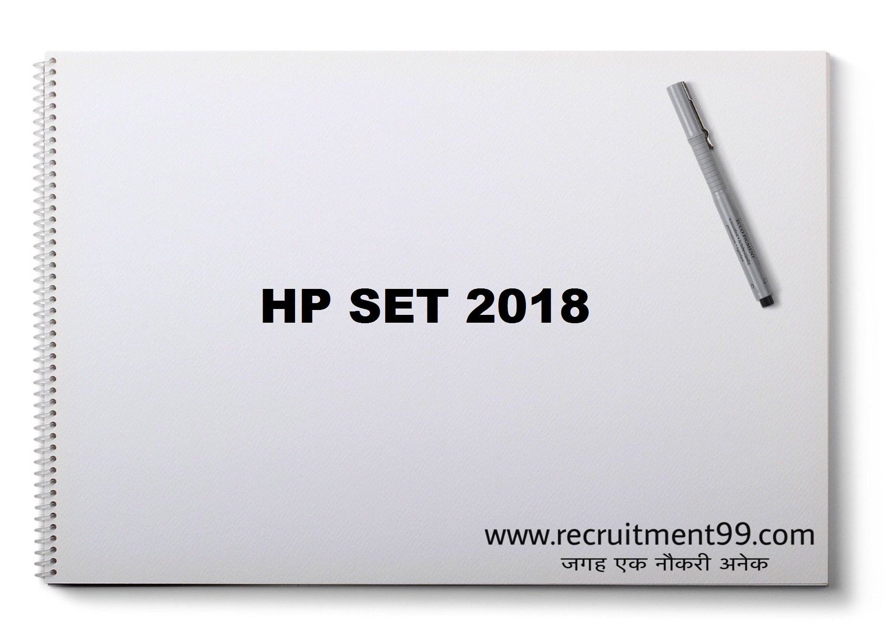 HP SET Application Form Admit Card Result Answer Key 2018