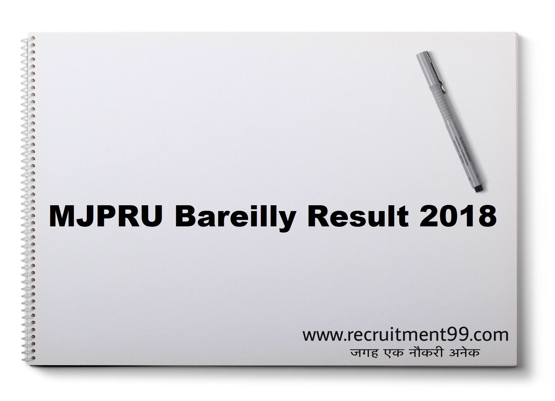MJPRU Bareilly BA BSC BCOM MA MSC MCOM Admit Card Time Table Result 2019