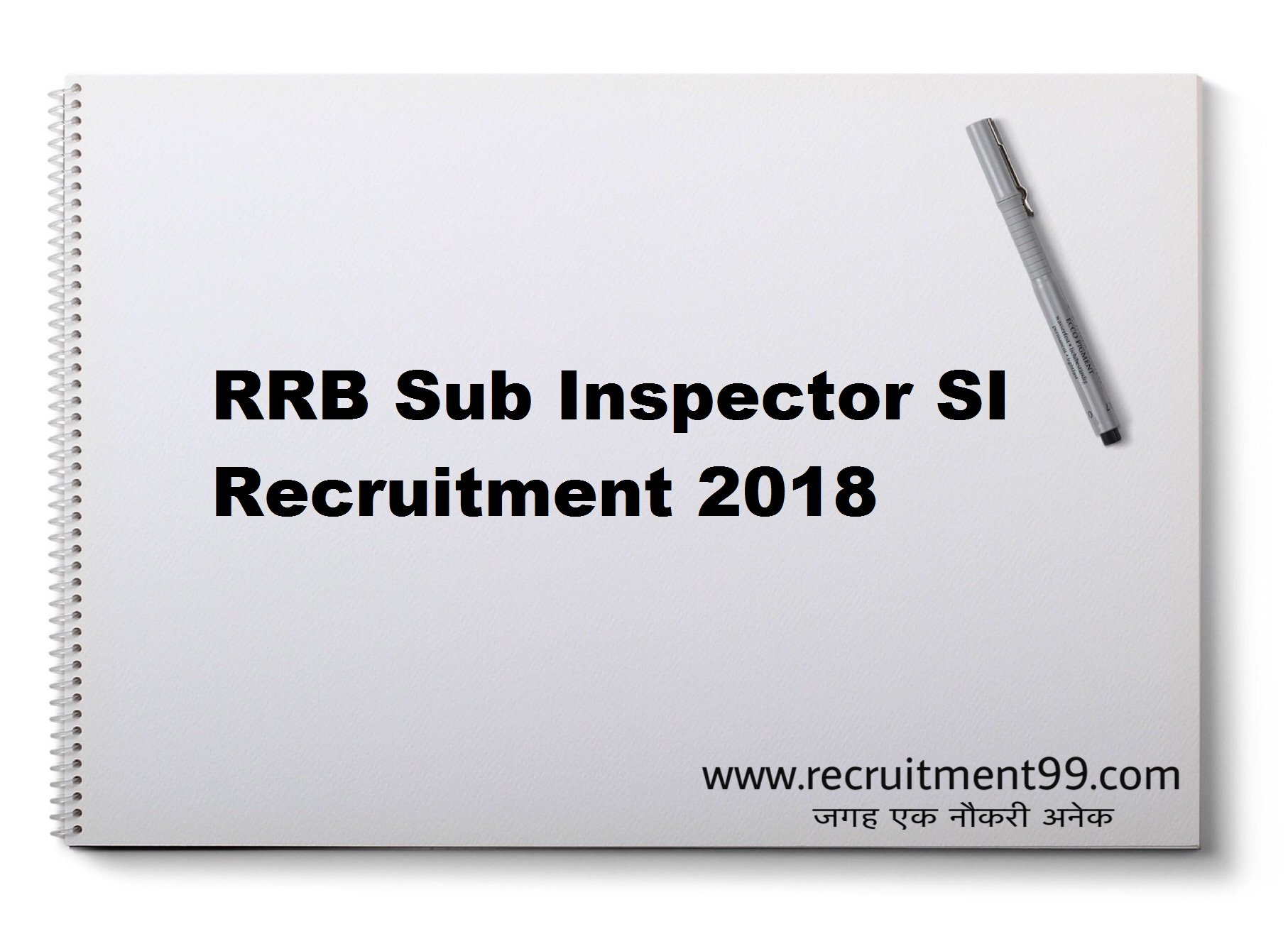 RPF Sub Inspector (SI) Recruitment Admit Card Result 2018