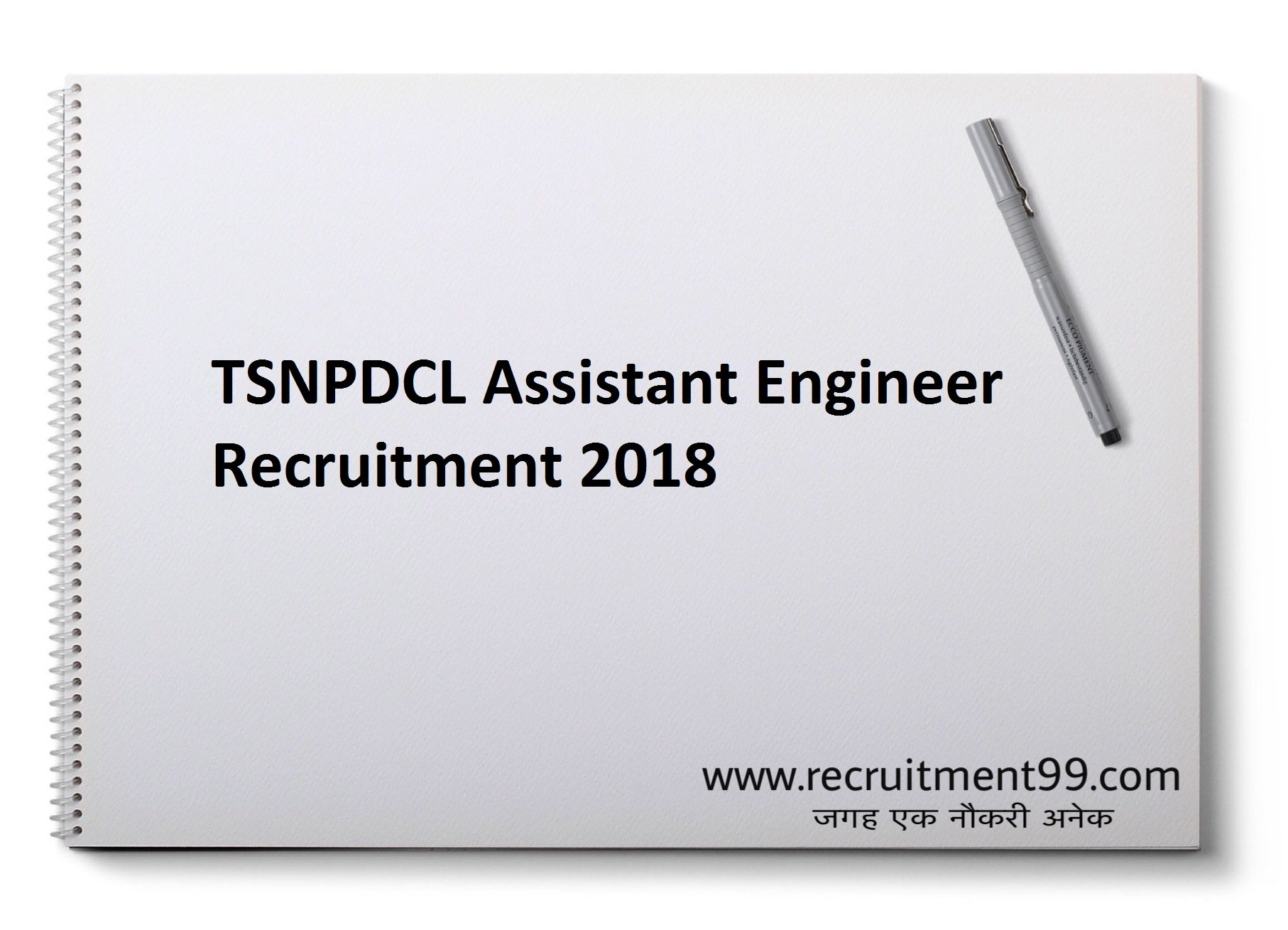 TSNPDCL Assistant Engineer Recruitment Hall Ticket Result 2018