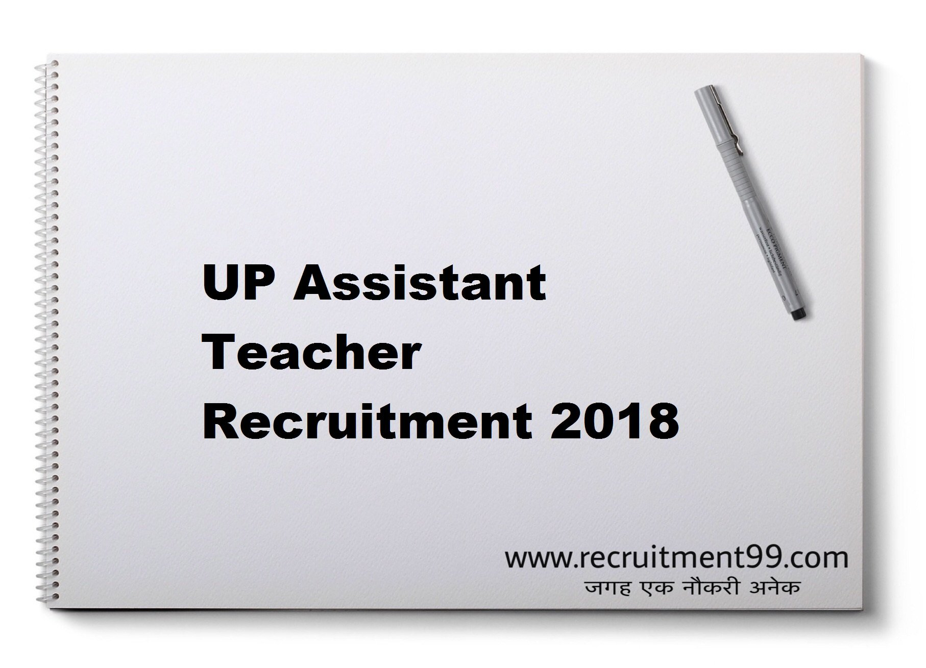 UP Assistant Teacher Recruitment Admit Card Answer Key Result 2018