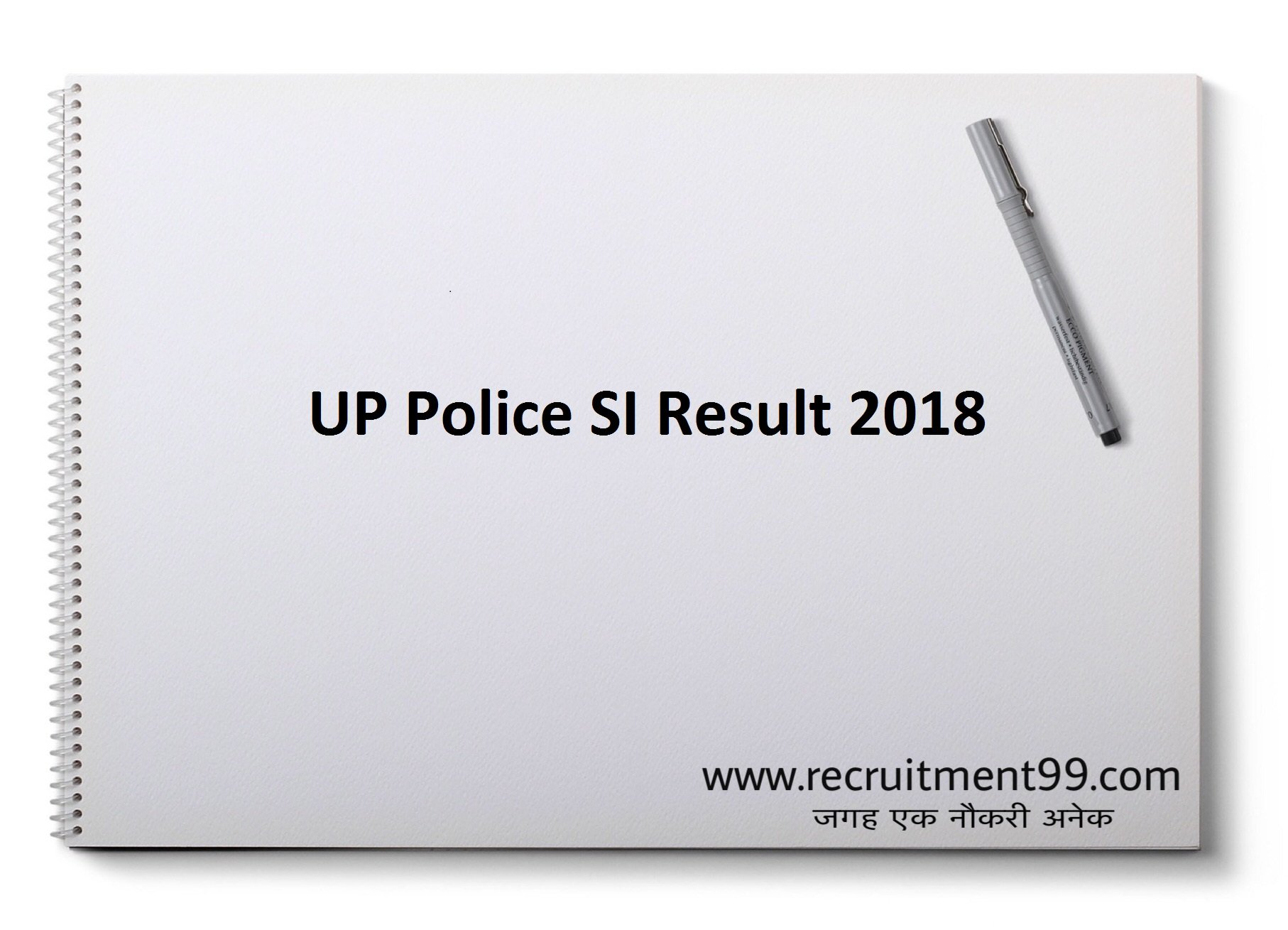 UP Police SI Result 2018 – Sub Inspector 3307 Posts Name