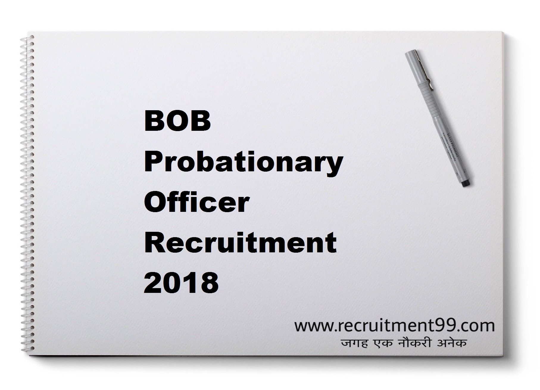 BOB Probationary Officer Recruitment Admit Card Result 2018