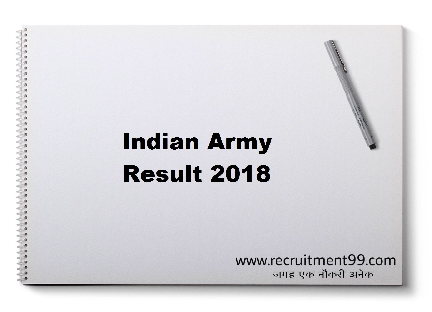 Indian Army GD Clerk Tradesman ARO Admit Card Result 2018