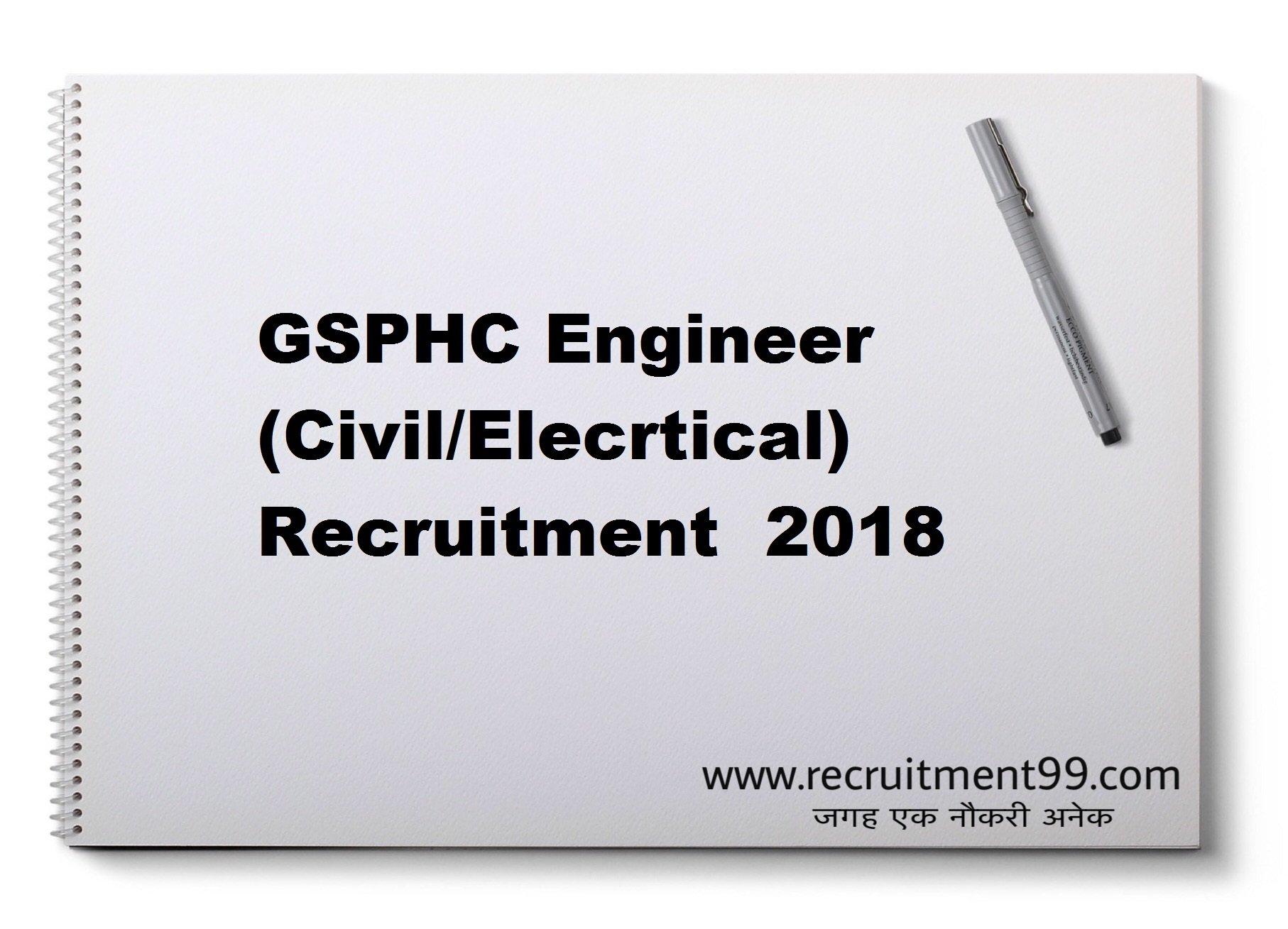 GSPHC Engineer Recruitment Admit Card Result 2018