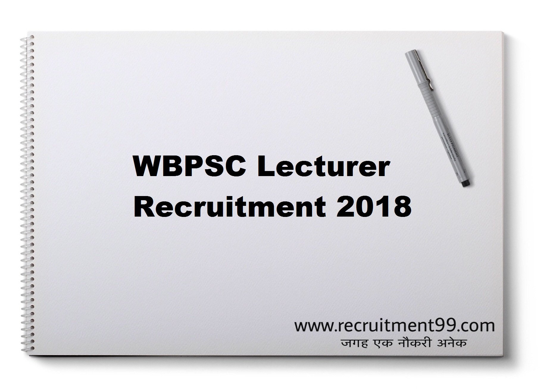 WBPSC Lecturer Recruitment Admit Card Result 2018