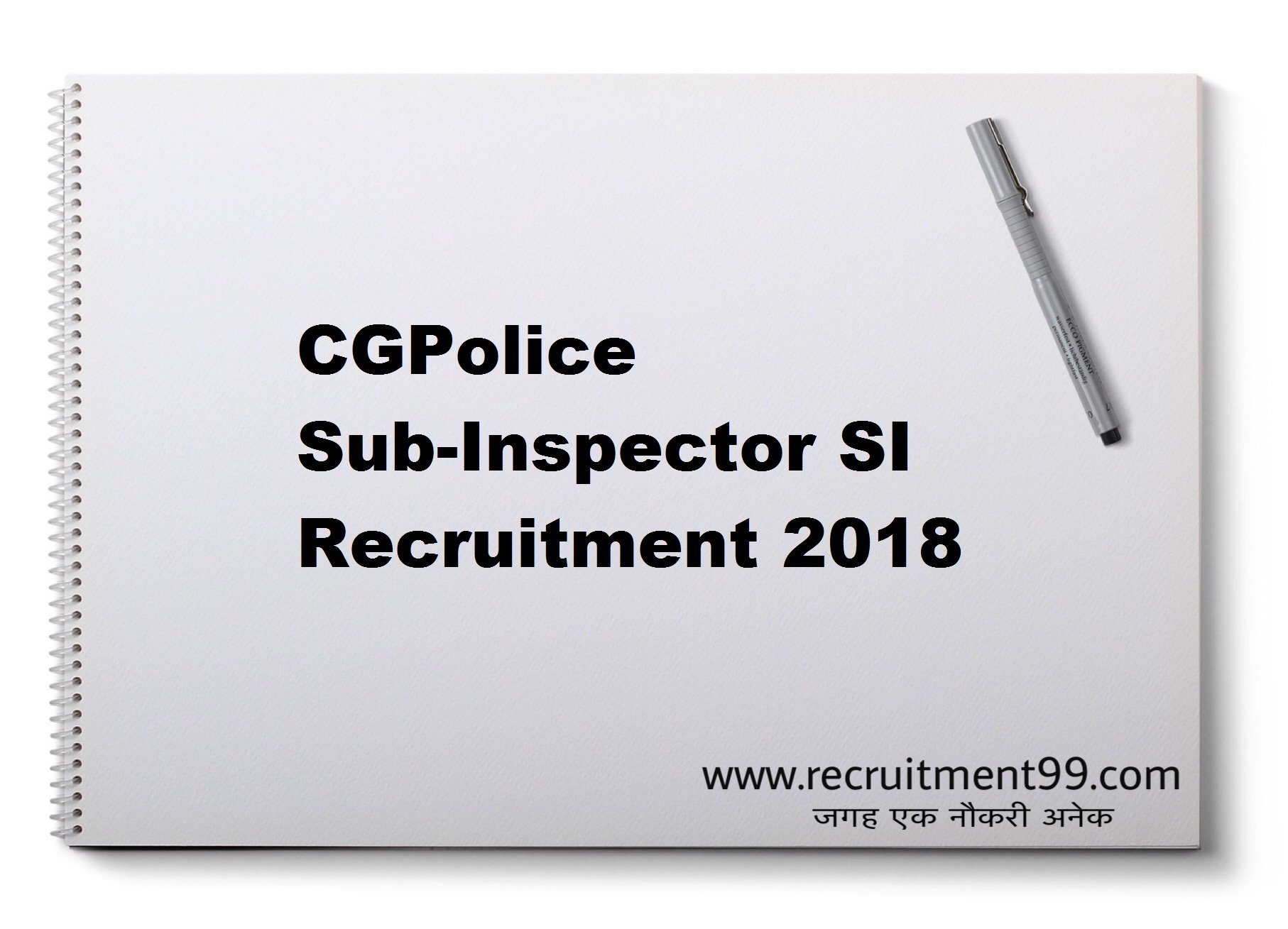 CGPolice Sub Inspector SI Recruitment Admit Card Result 2018