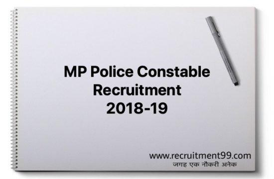 MP Police 15000 Constable Recruitment 2018-19