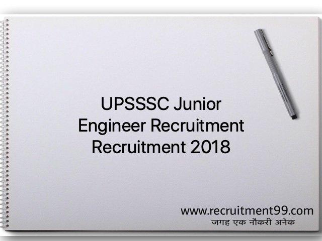 UPSSSC Junior Engineer Recruitment Admit Card Result 2018