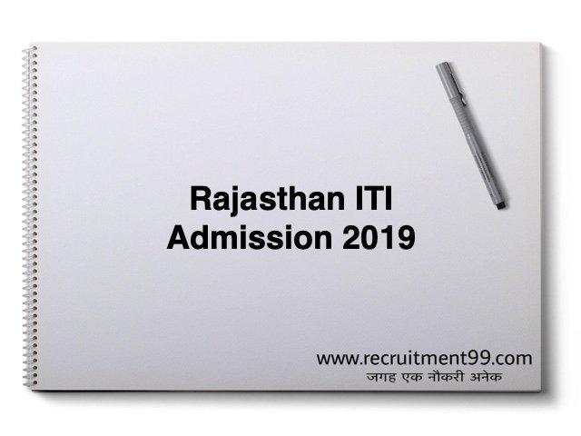 Rajasthan ITI Admission