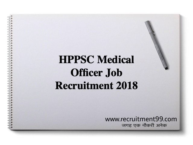 HPPSC Medical Officer Job Recruitment 2018