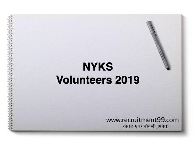 NYKS Volunteers 2019